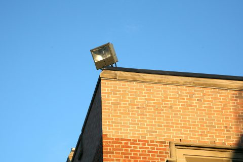 Security Lighting for Businesses in Collingtree