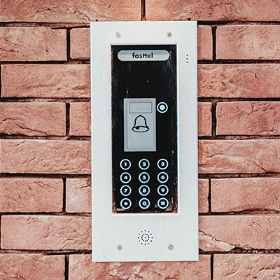 residential access control key pad Bedford